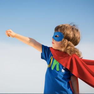 Child Superhero - Tooth Brushing Games